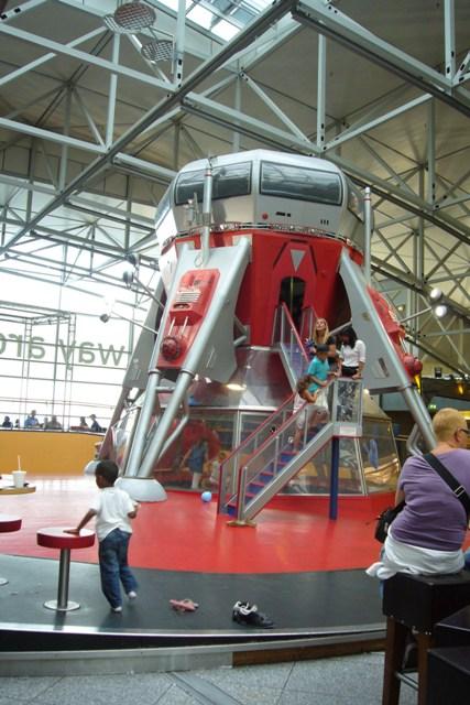 Frankfurt Airport kid's play area