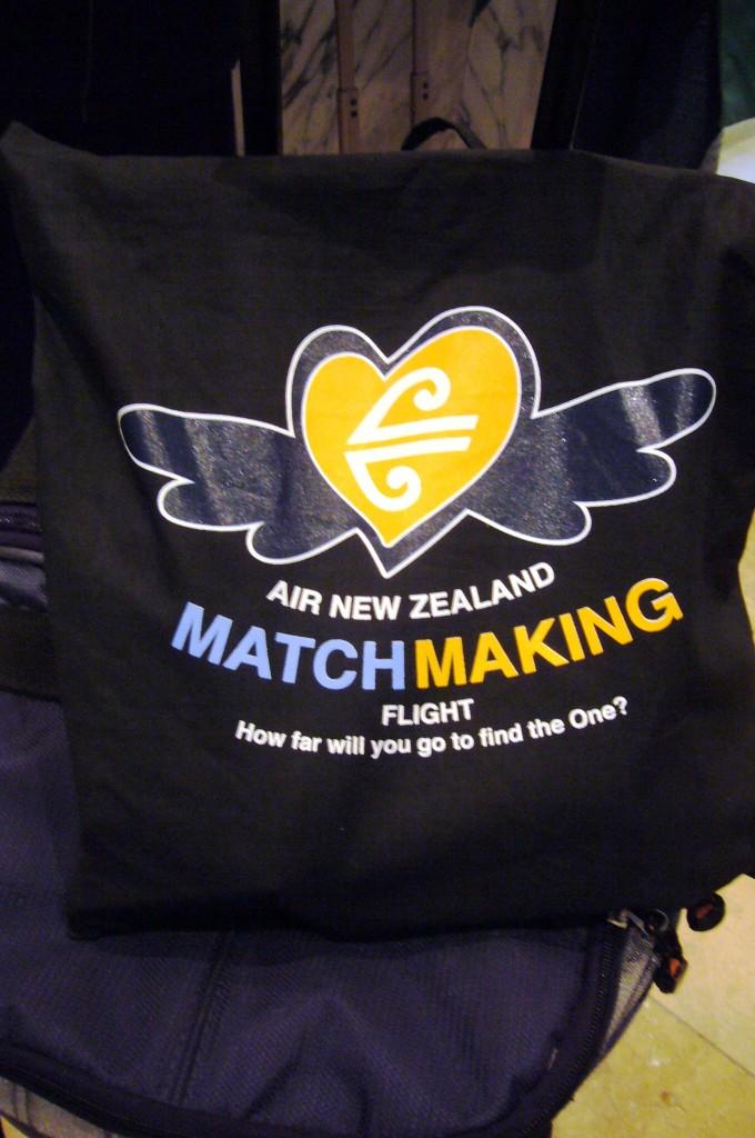 Air New Zealand bag