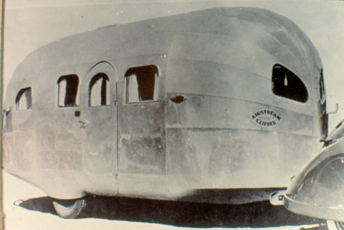 1936 Airstream Clipper at RV Museum and Hall of Fame