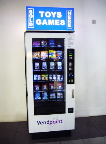 Toys and games at Heathrow