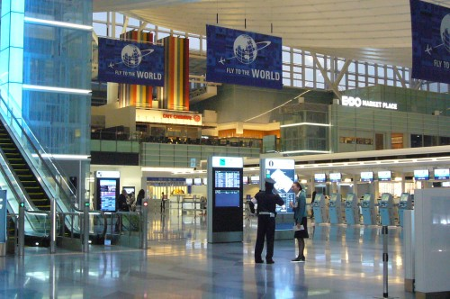 Haneda Airport new International Terminal