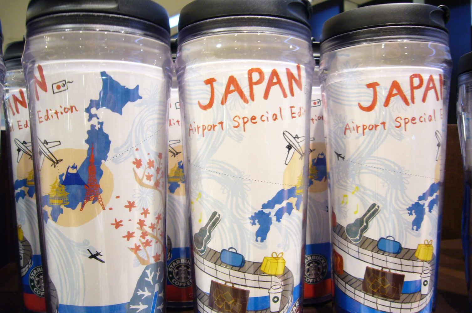 Special Japanese Edition Starbucks Travel mugs
