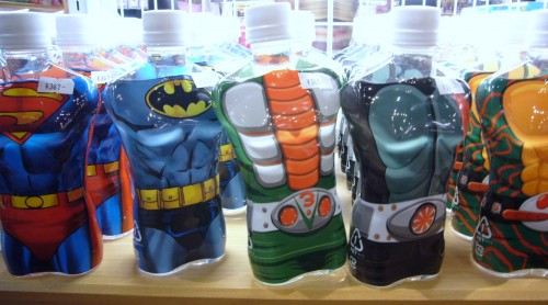 Super Hero Water bottles