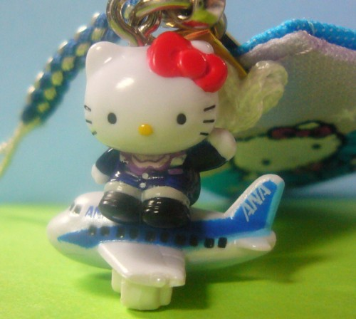 Hello Kitty with airplane