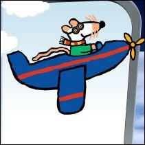 Maisy flying for RIF