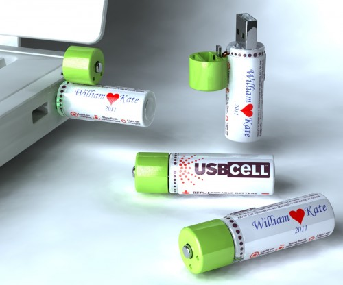 William and Kate branded eco-batteries