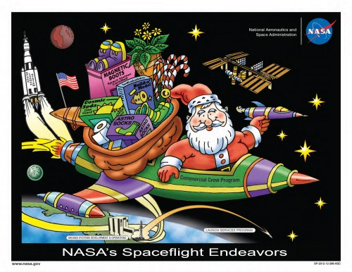 NASA SPACEFLIGHT SANTA