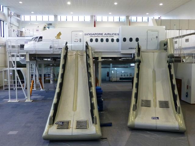 Safety Training mockup plane