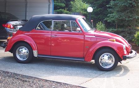 1978 VW Superbeetle - Courtesy Brenda Patnode