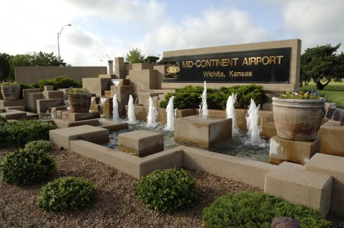 Wichita - old airport sign