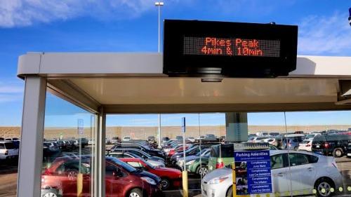 DEN Airport parking