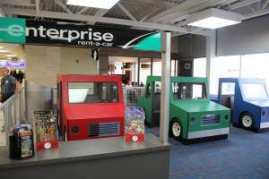New kids play area at STL Airport has a rental car center