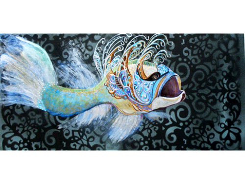 The Fish in her Party Dress - Cheryl Bookout