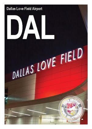 Dallas Love Field trading card