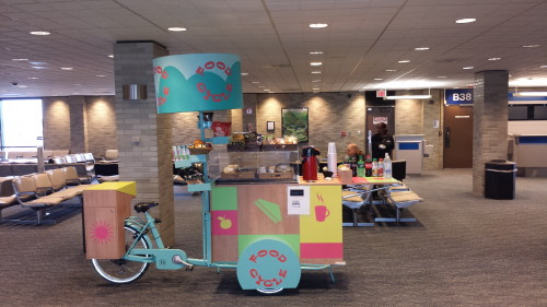 HMSHOST Food Cycle delivers food to gate huggers at Memphis International Airport