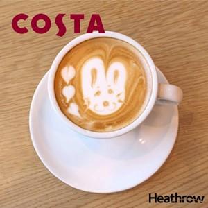 Heathrow cost coffee easter