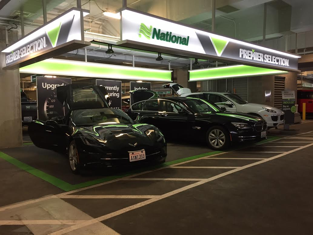 Sfo National Car Rental Emerald Executive Cars