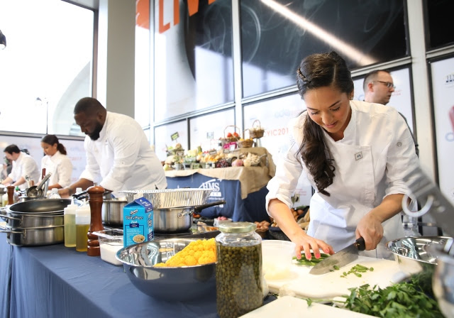 How to enter the cooking contest at O'Hare Airport