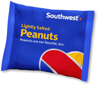 Southwest Airlines has served its last little bag of peanuts