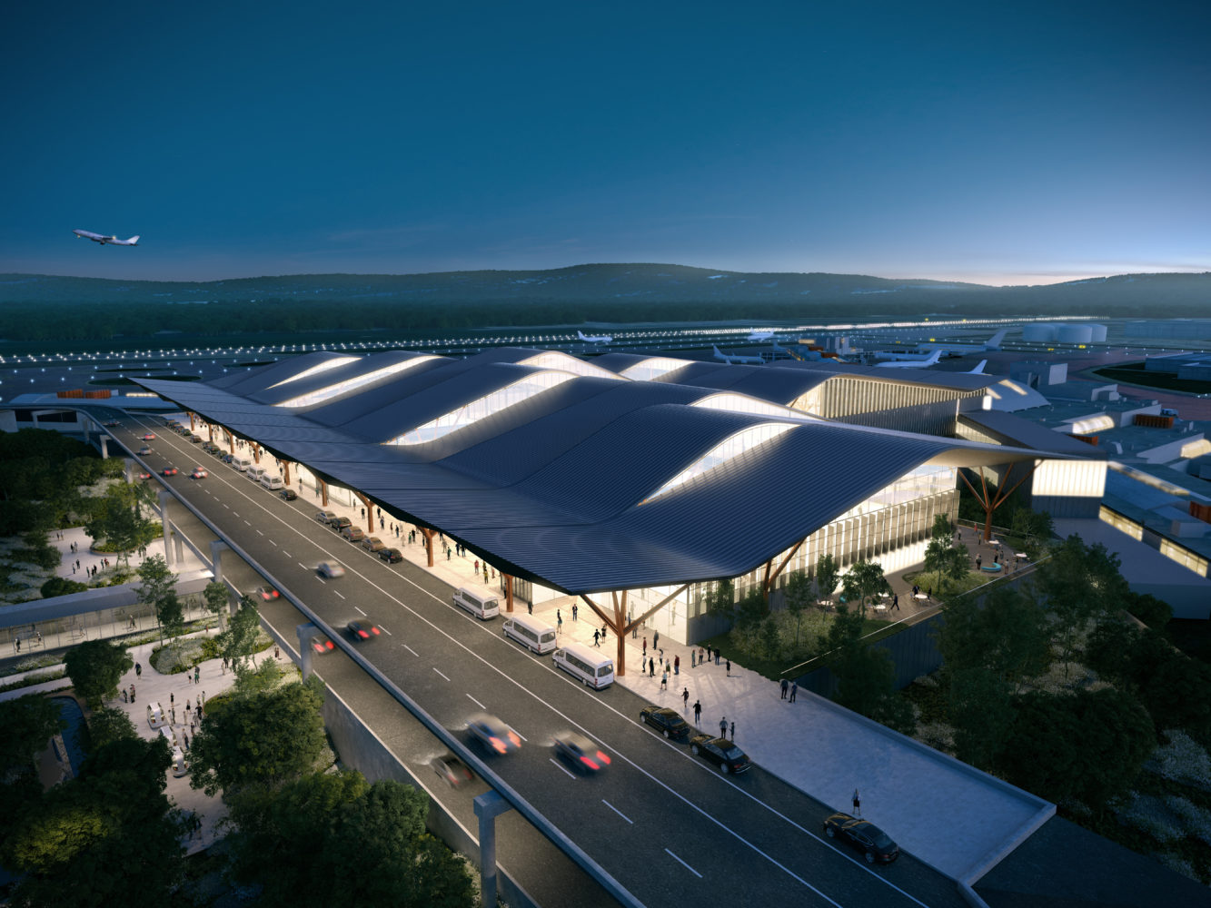 Pittsburgh Airport getting a swank makeover