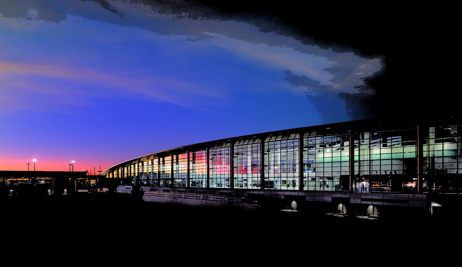 First look: new terminal at New Orleans International Airport