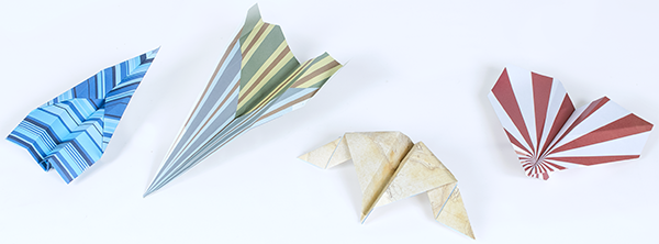Miss flying? Make your own paper airplane
