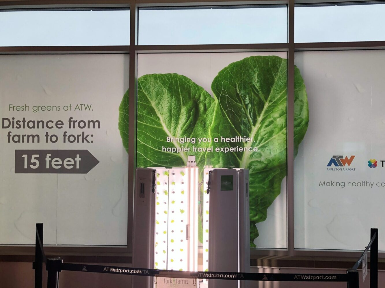 Appleton, WI Airport growing its own food