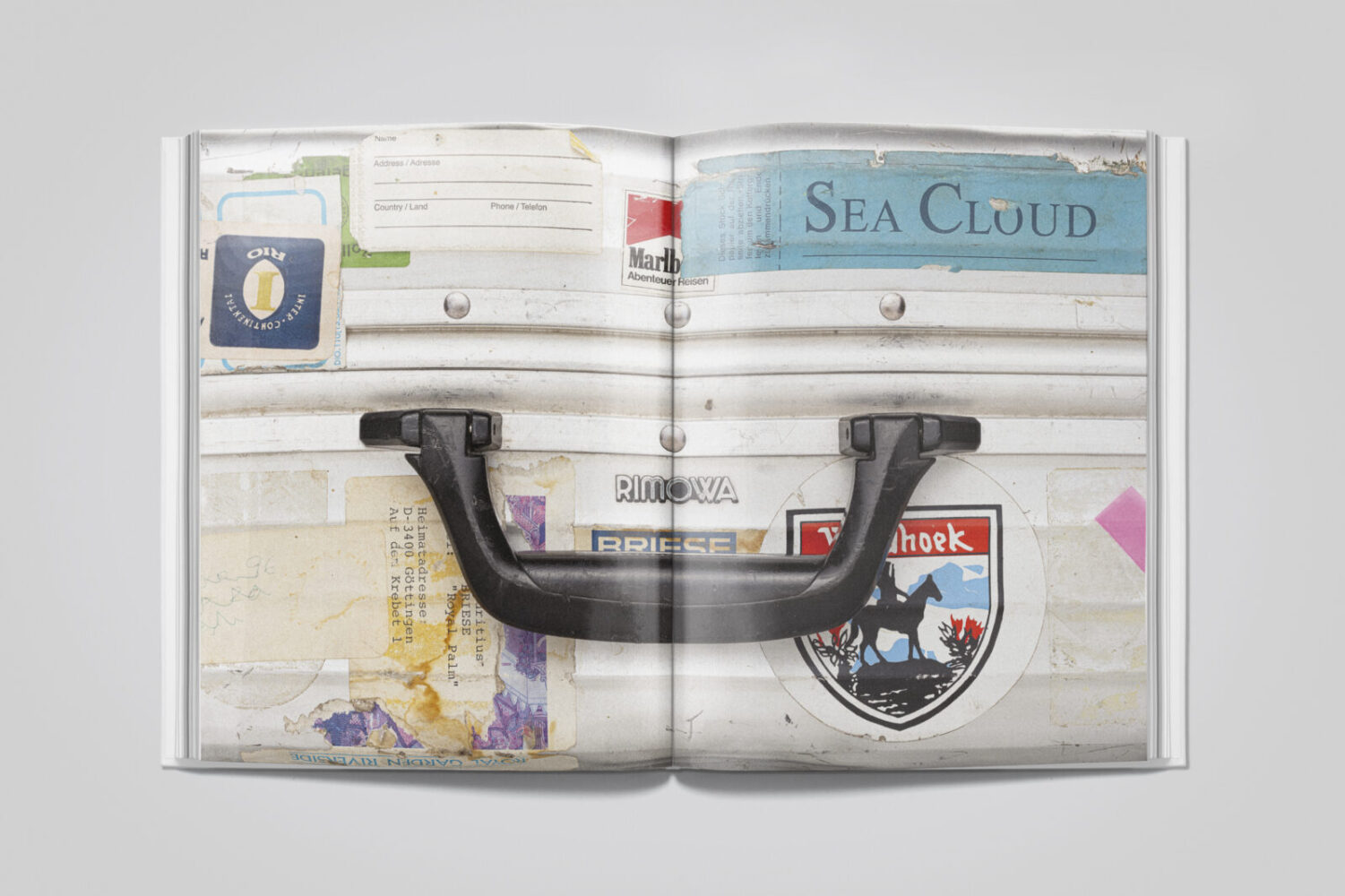 New book unpacks the archives of  Rimowa luggage