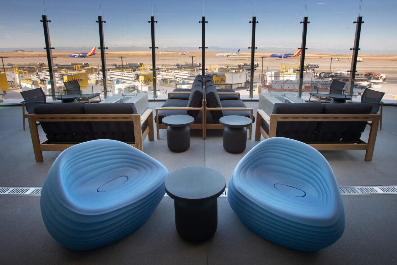 Denver Airport now has an outdoor deck